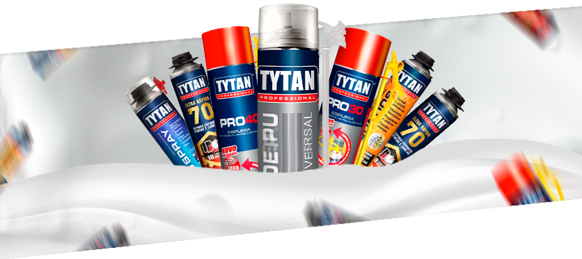 Espumas Tytan Professional