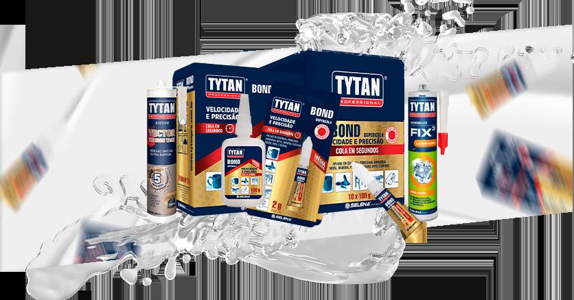 Adesivos Tytan Professional